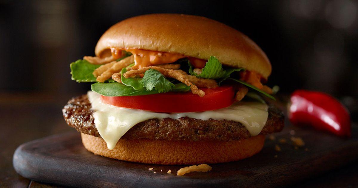 Critic: McDonald's Sriracha-Kale Burger Is a 'Cry for Help'