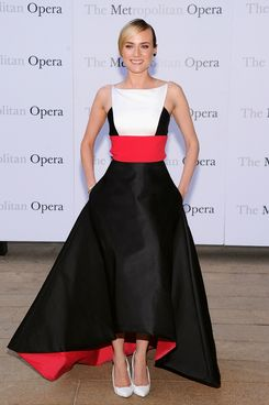 "Diane Kruger attends the Metropolitan Opera Season Opening Production Of ""Eugene Onegin"" at The Metropolitan Opera House on September 23, 2013 in New York City."