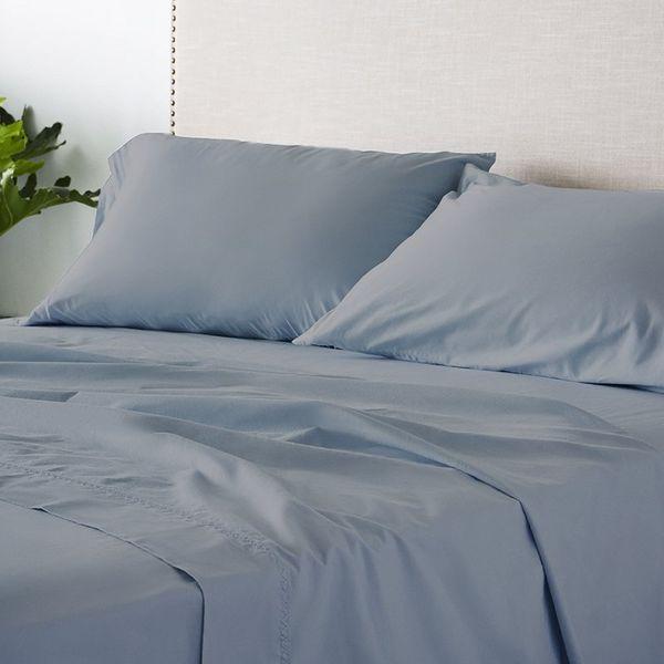 Allswell Organic Garment Wash Percale Sheet Set, Queen