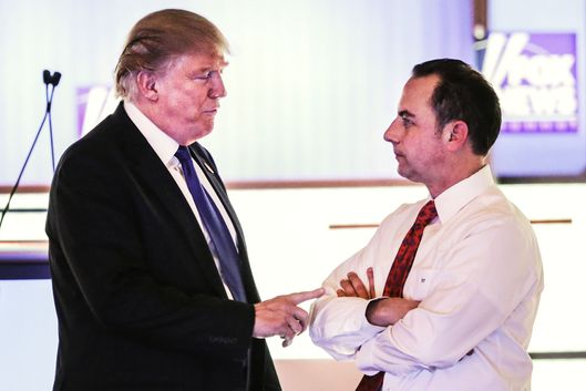 Trump And Priebus Meet, Stick To Small Talk -- NYMag
