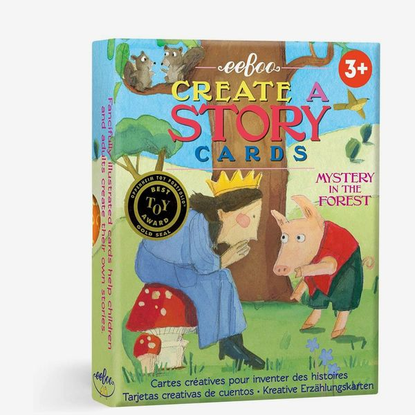 eeBoo Create a Story Cards, Mystery in the Forest