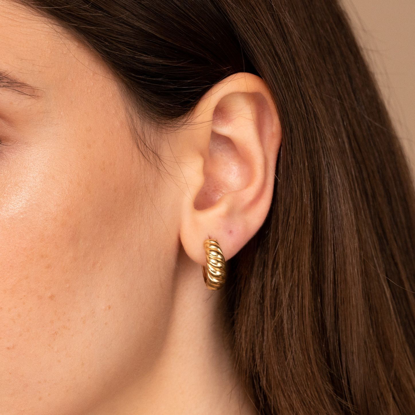 Gifts for Her Valentines Gift Flower Earrings Galentines Gift Gold Earrings Dainty Gold Flower Patterned Earrings Jewelry for Her