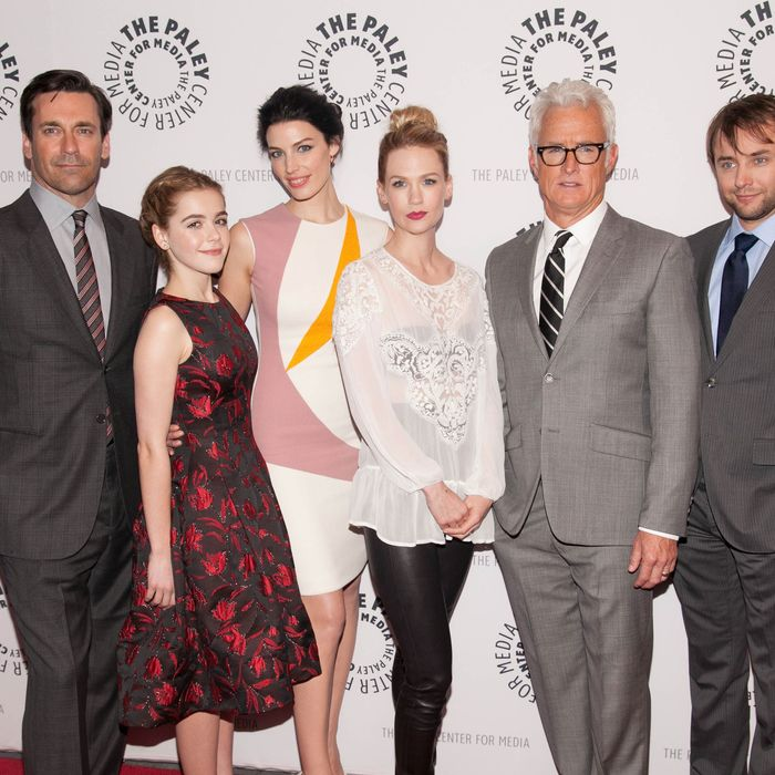 The Mad Men cast.