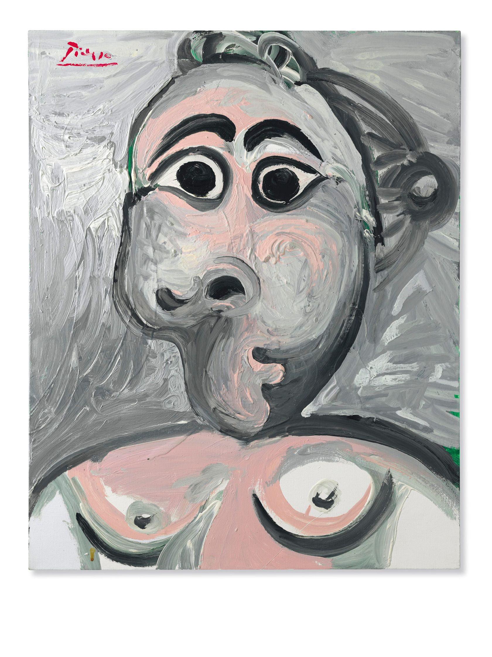 Buste de femme (1970) by Pablo Picasso. - Death in America ...