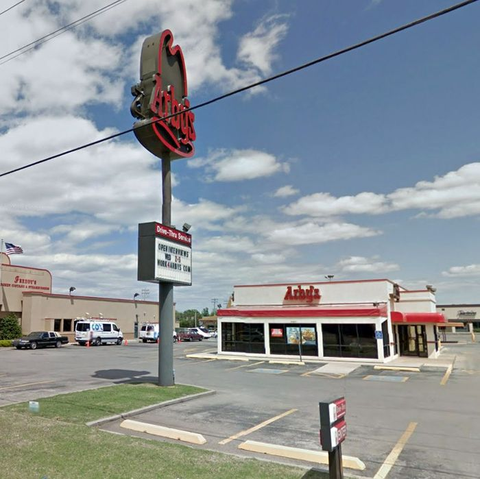 The Arby's in question.