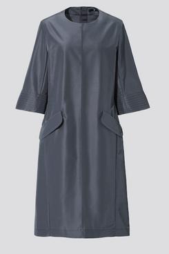 Uniqlo J+ Silk-Blend Half-Sleeve Dress