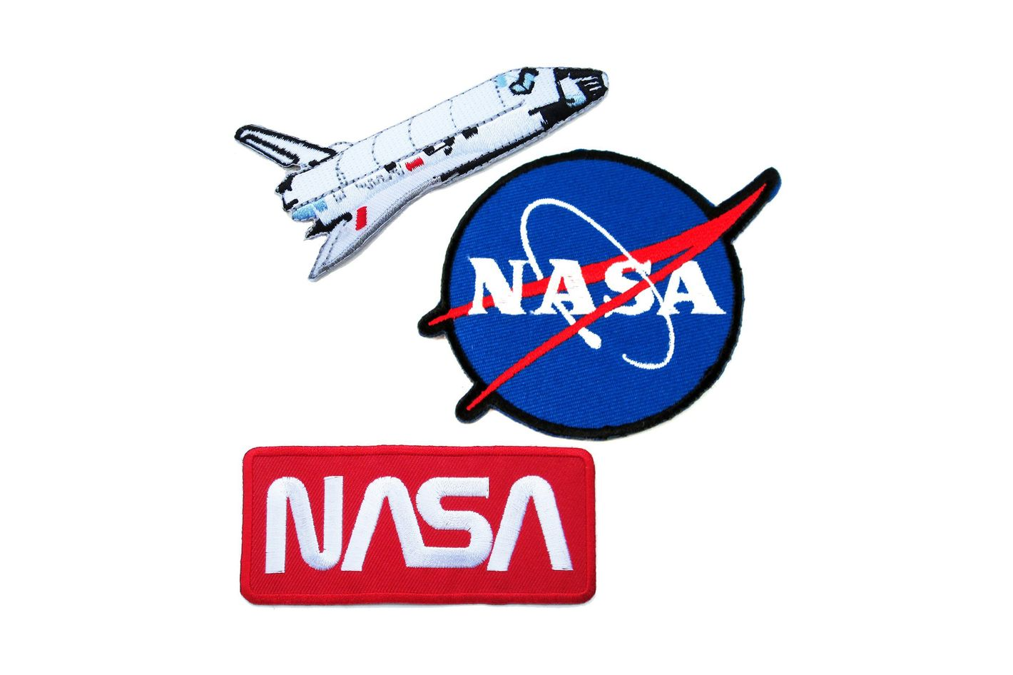 NASA Iron-On Patches #5 — Super Save Pack