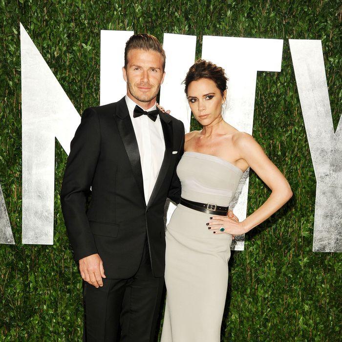 David and Victoria.