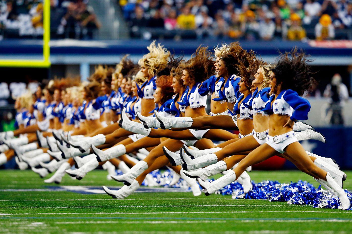 Cheerleader oops nfl 50 Classic