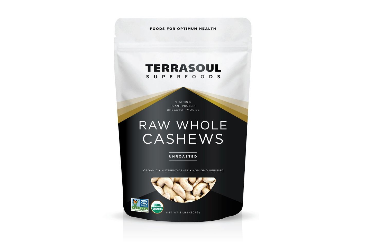 Terrasoul Superfoods Organic Whole Cashews