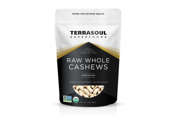 Terrasoul Superfoods Organic Whole Cashews
