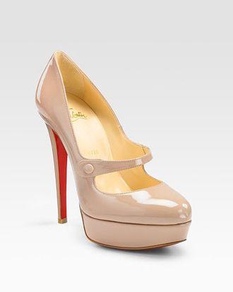A Louboutin shoe.