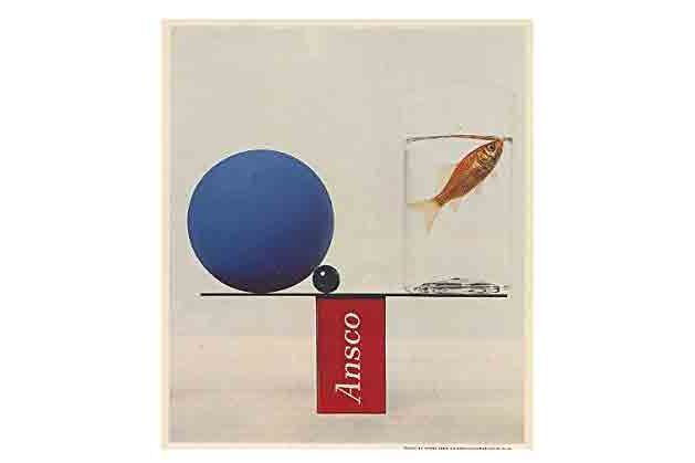 1961 Ansochrome Ad by Irving Penn