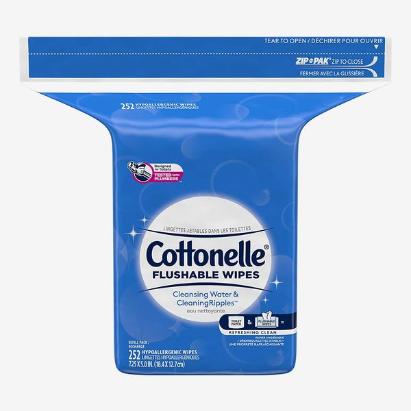 Cottonelle Flushable Wet Wipes for Adults