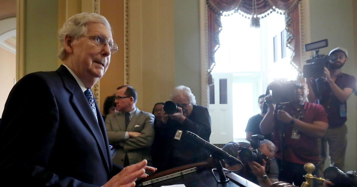 McConnell Thinks Obama Was Reparations Enough