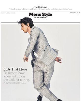 Men's Style Issue