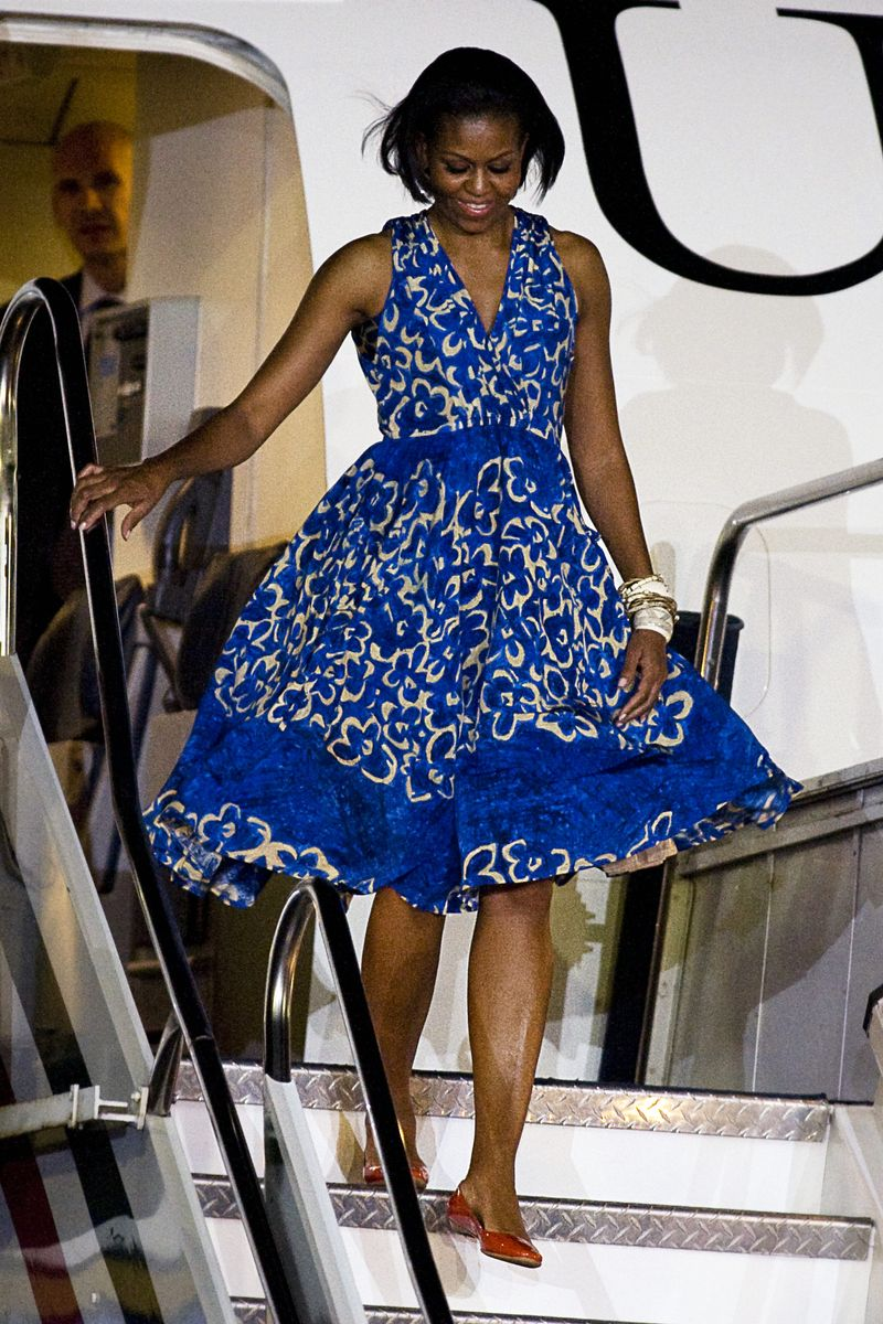 The Michelle Obama Look Book The Cut