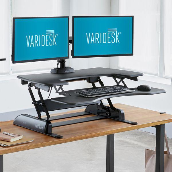 Varidesk Pro Plus 36 Height-Adjustable Standing Desk