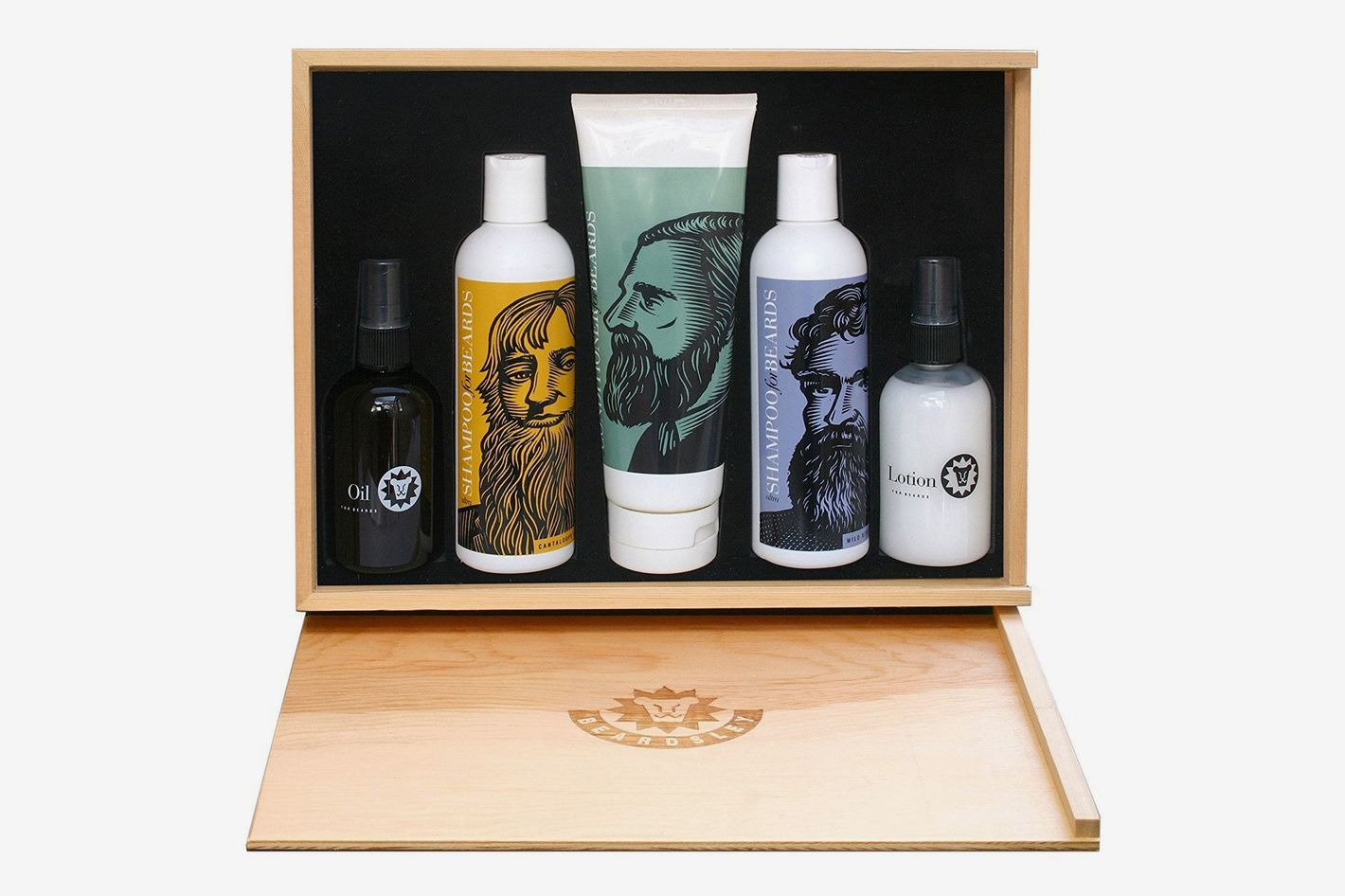 Beardsley in the Box Beard Care Gift Set