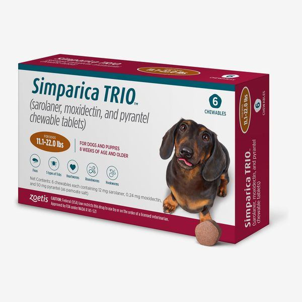 Simparica Trio Chewable Tablets for Dogs