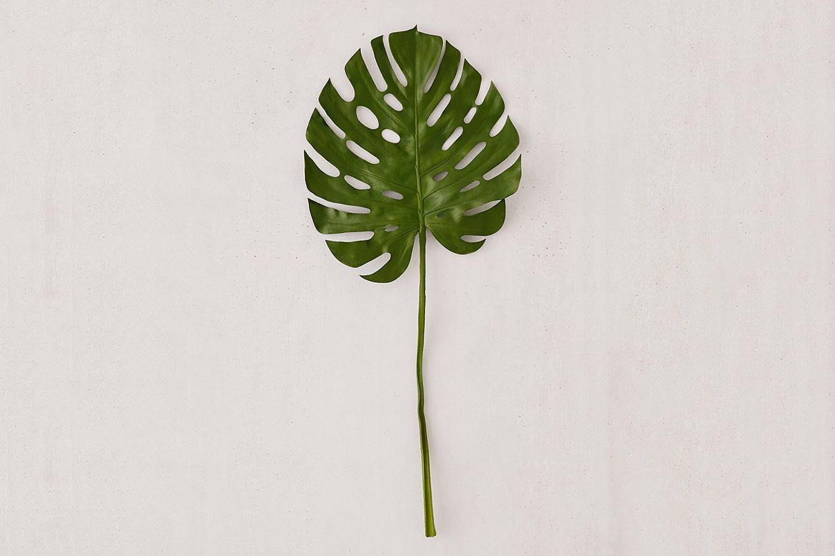 Faux Giant Monstera Leaf