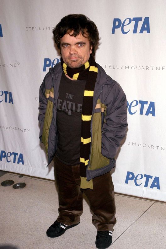 Peter Dinklage==Pamela Anderson Hosts PETA Fashion Week Bash==Stella McCartney, NYC==February 3, 2006.
