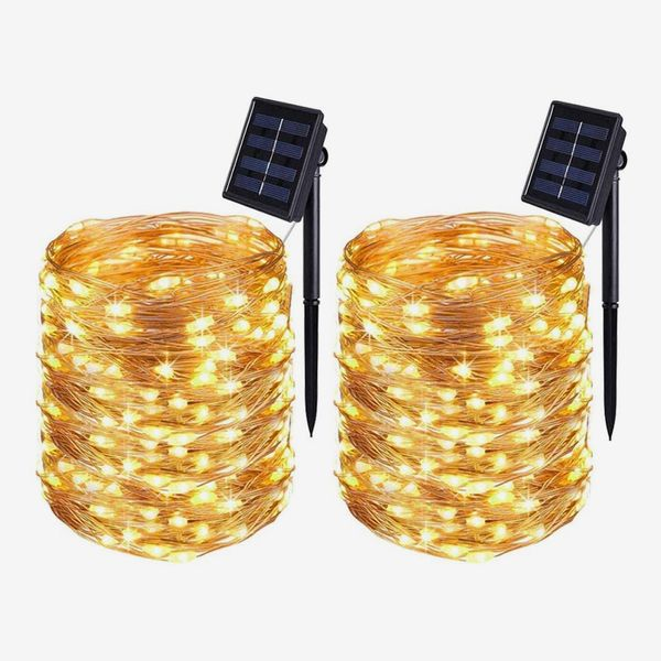 Solar Powered String Lights, 16.4Ft