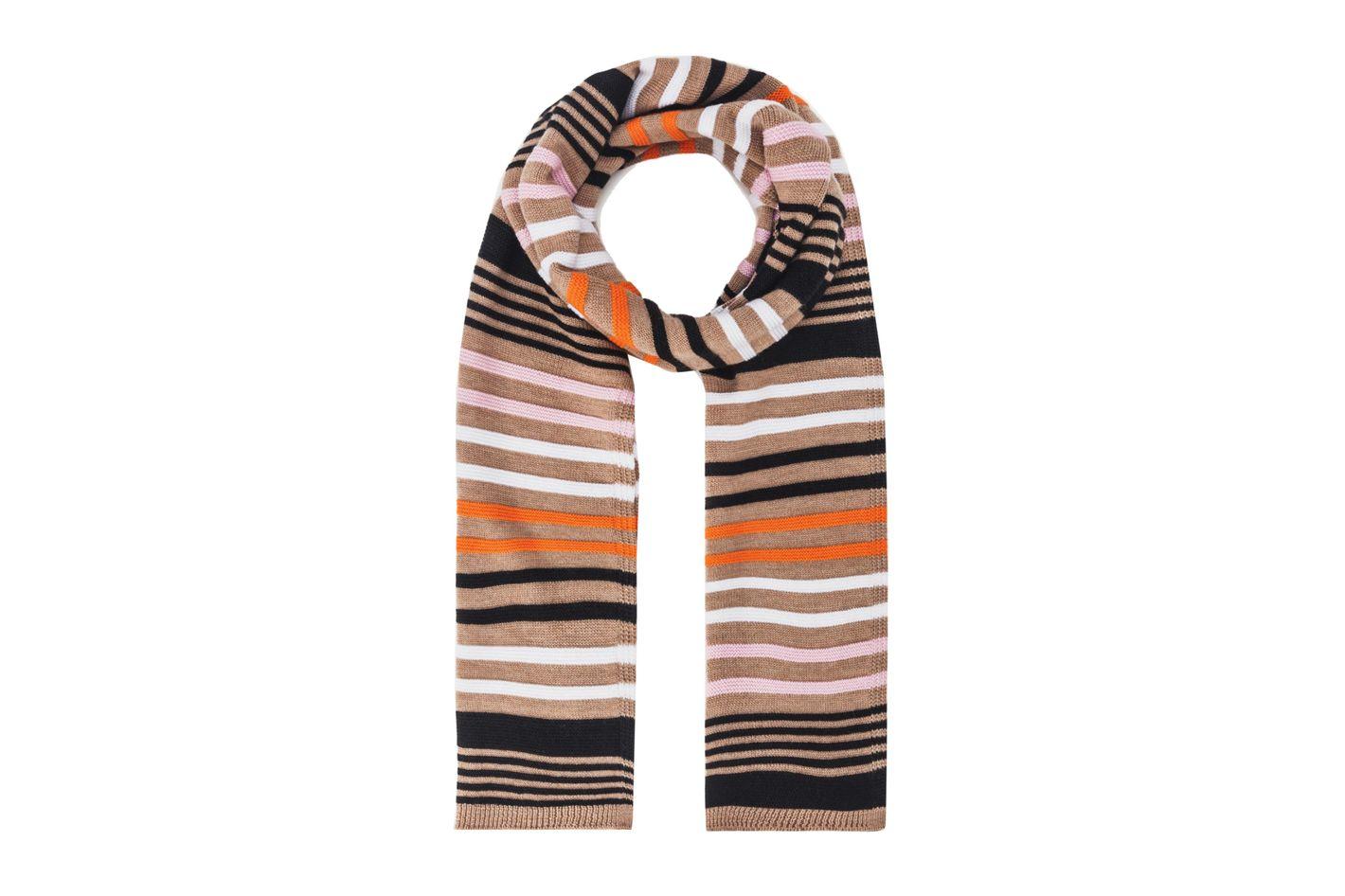 Sonia Rykiel Multicolour-Striped Scarf