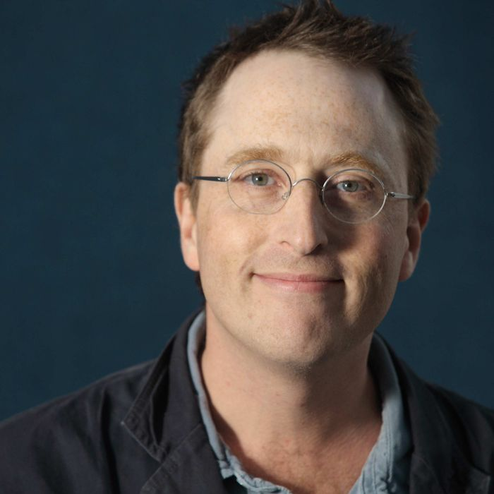 British comedy writer Jon Ronson.