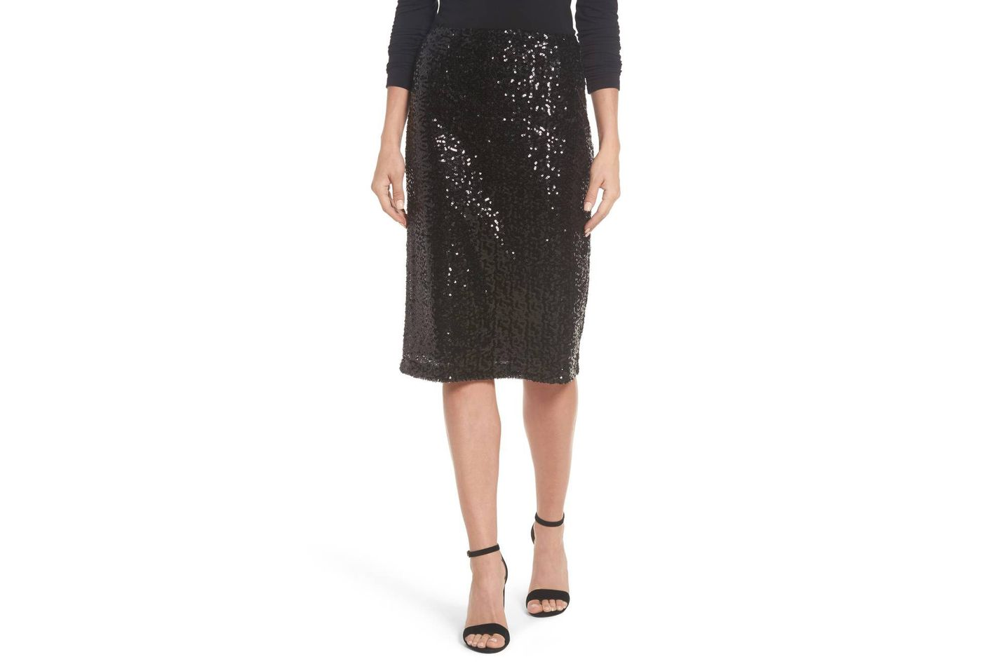 Halogen Sequin Skirt
