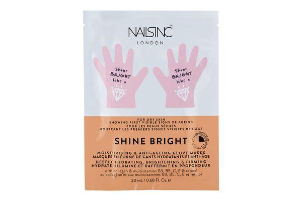 NAILS INC. Shine Bright Moisturising & Anti-Aging Hand Mask