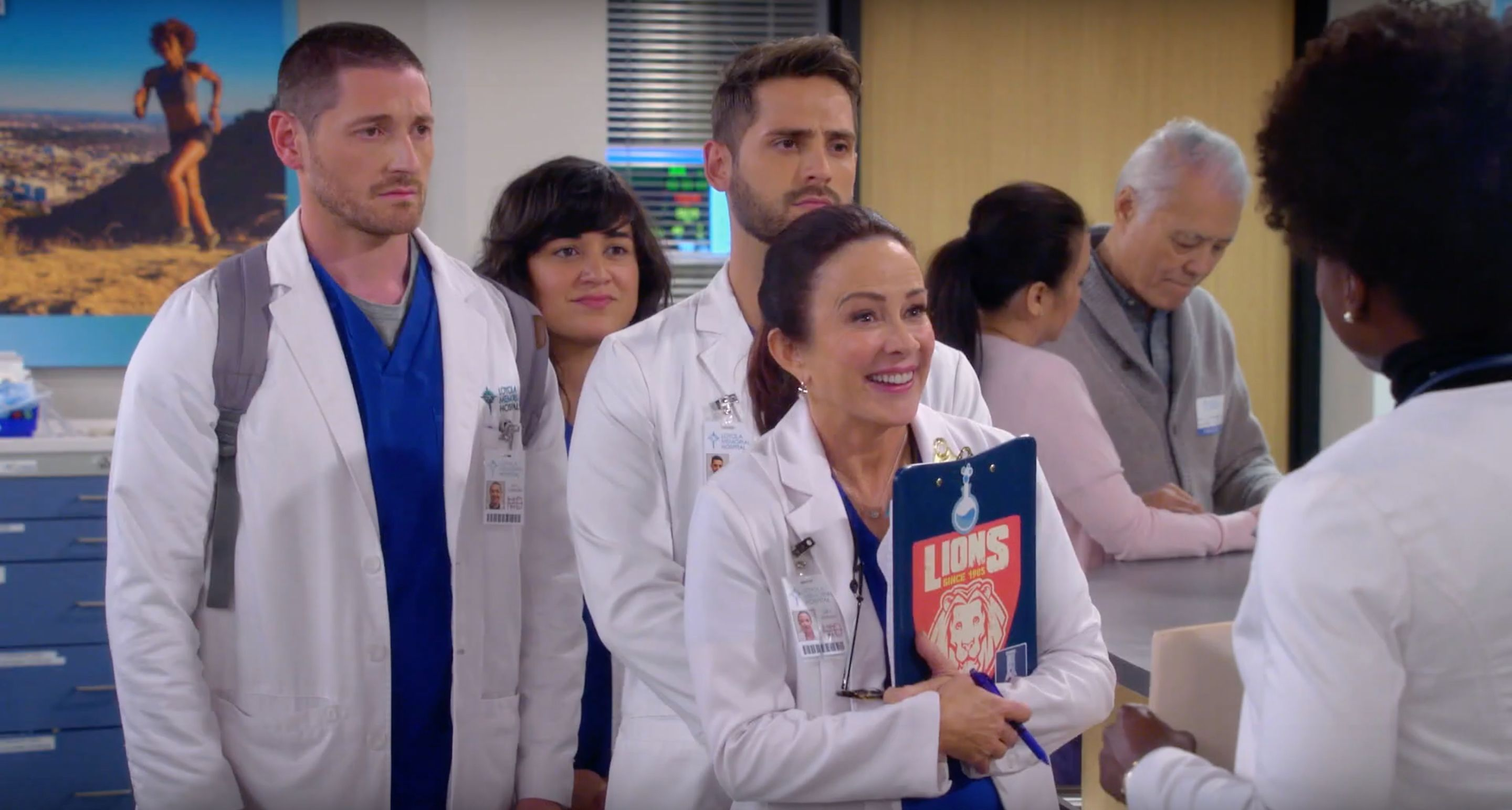 Patricia Heaton Finds A Silver Fox At Her Hospital In The Trailer for CBS's Carol's Second Act