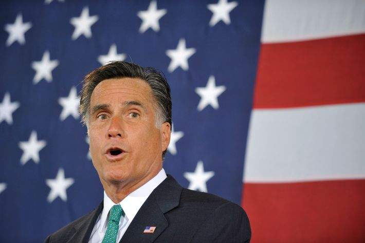 Republican presidential candidate and former Massachusetts Gov. Mitt Romney speaks to supporters during a campaign stop on April 18, 2012 in Charlotte, North Carolina.