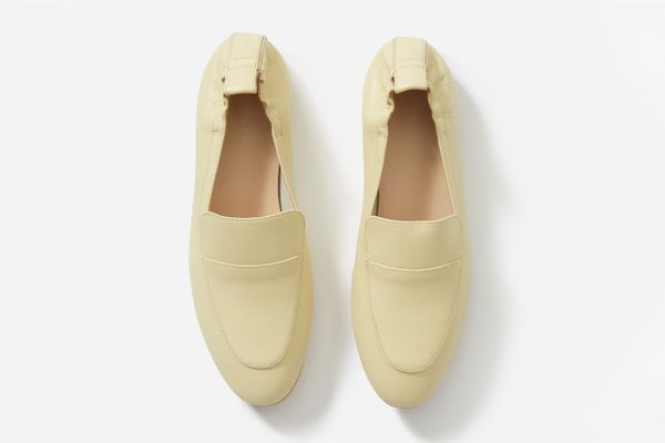 The Day Loafer in Pale Yellow