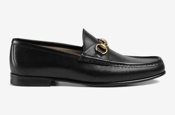 Gucci Men's 1953 Horsebit Leather Loafers