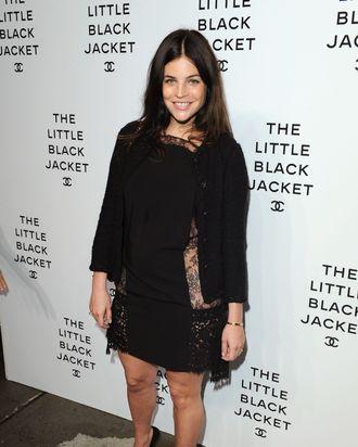 Julia Restoin Roitfeld at last night's Chanel party.