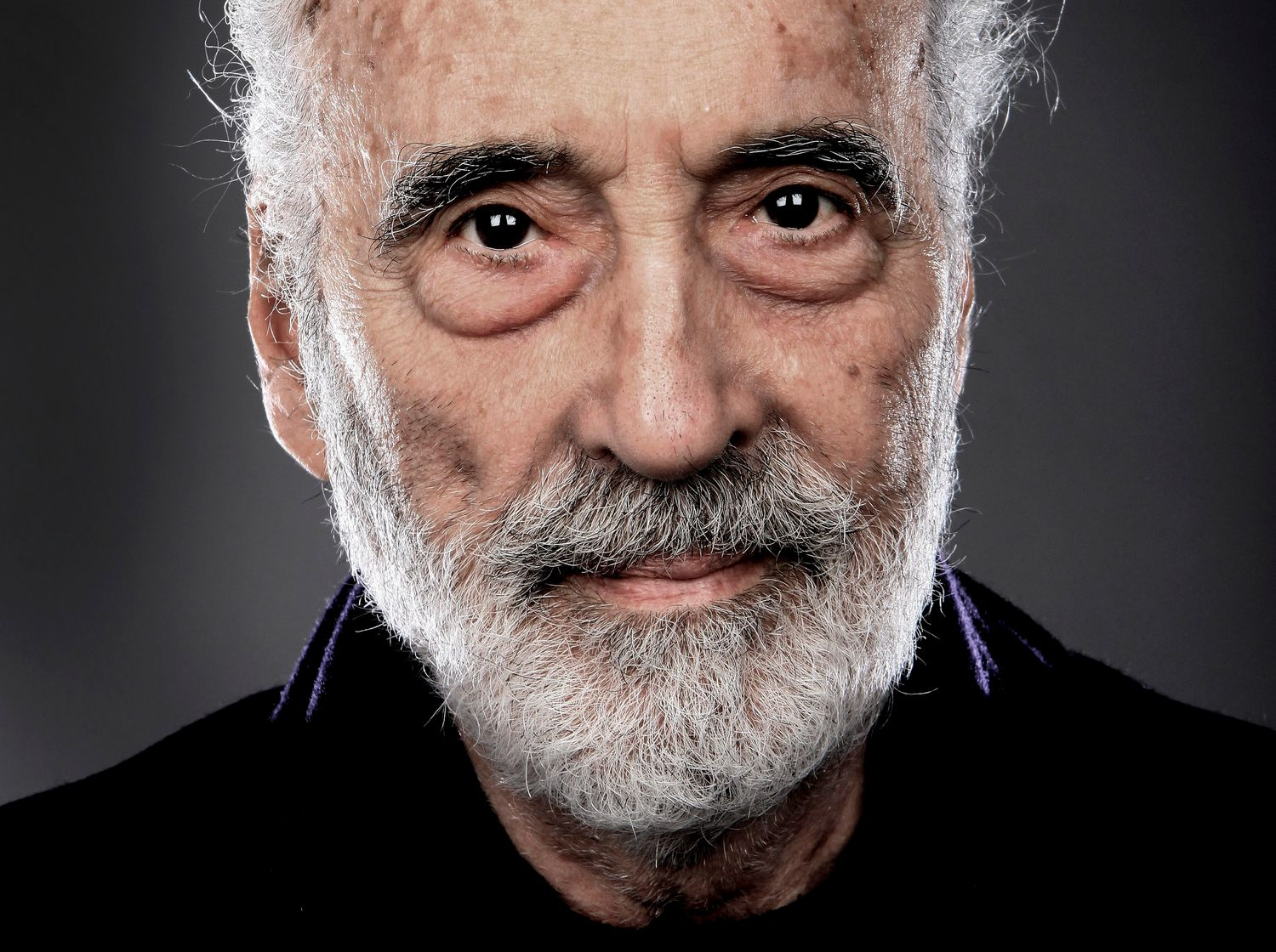 on Christopher Lee