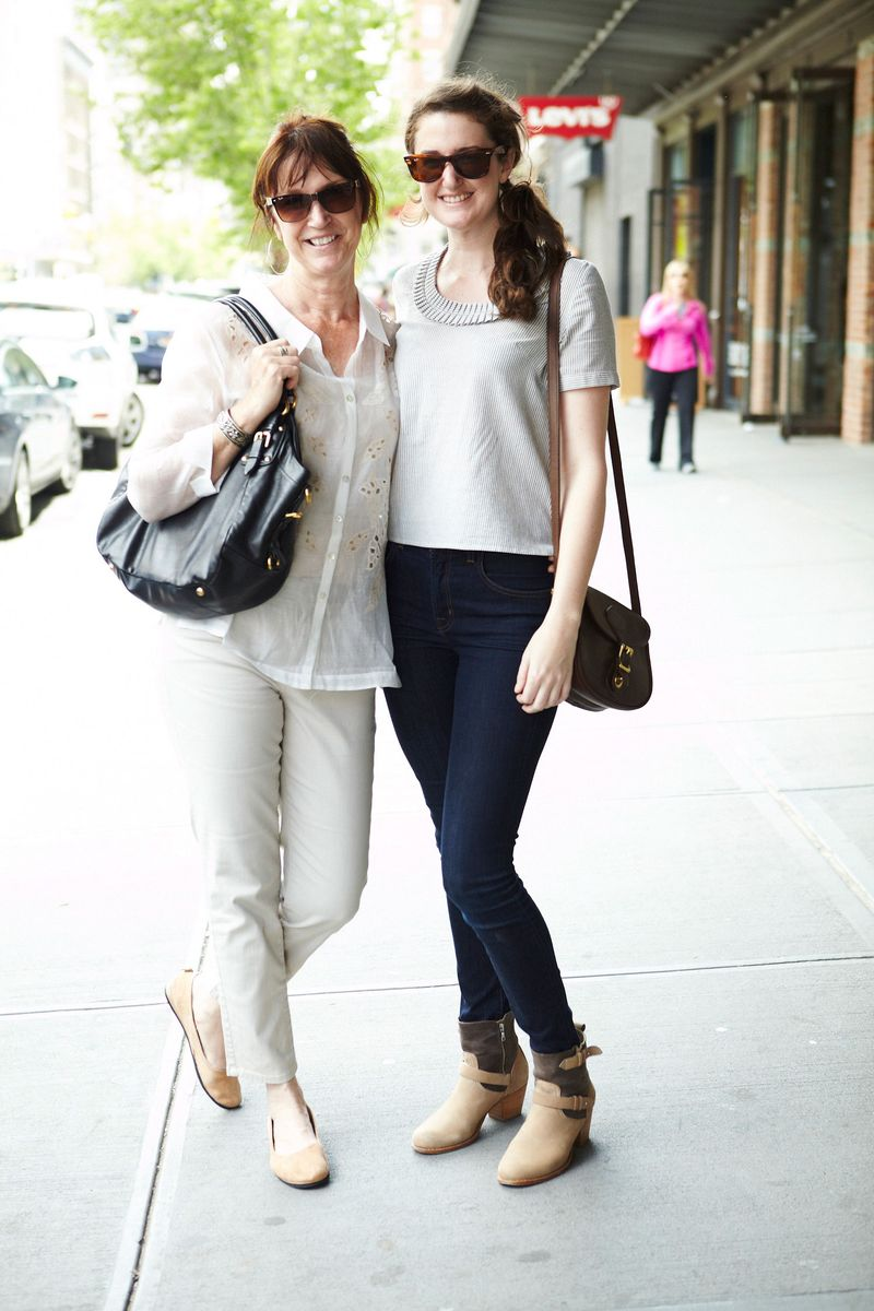 Connie, from Connecticut, and daughter Cassie - Street ...