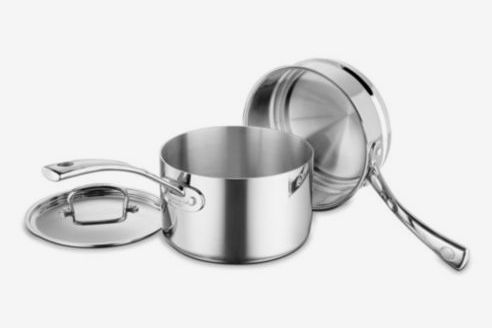 French Classic Stainless Steel 3-Piece Cookware Set