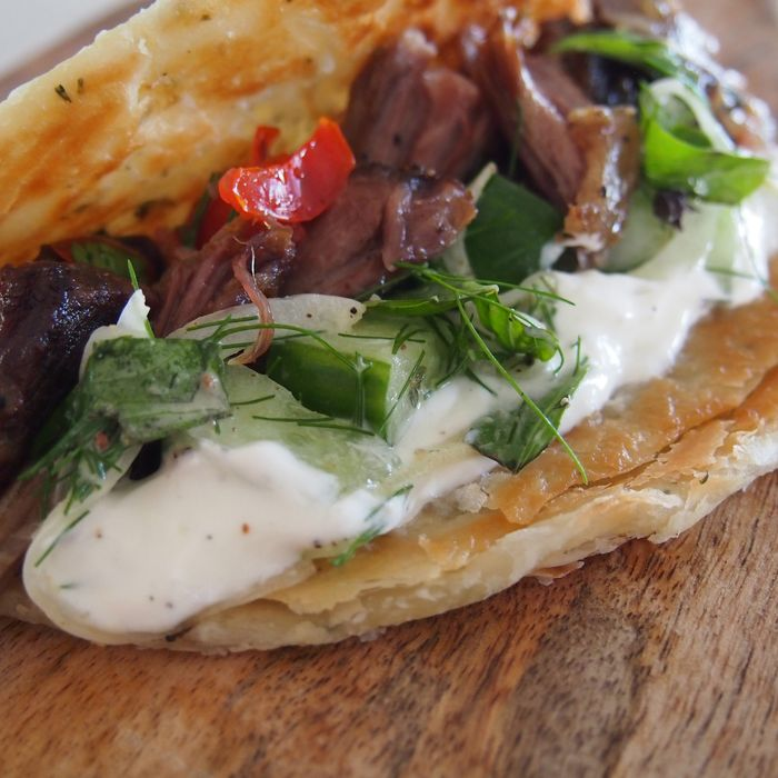 Say hello to a vendor that combines Goa-inspired parathas and the Mexican form of the taco.