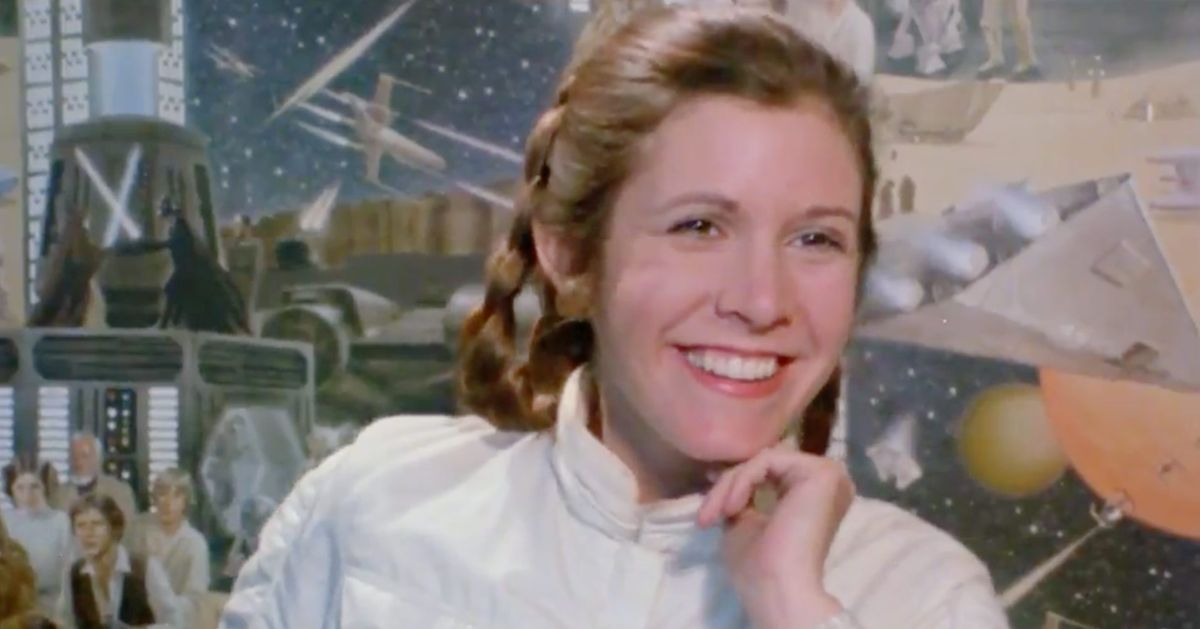If You Need To Cry, Star Wars Made a Carrie Fisher Tribute