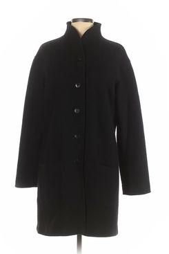 Agnes B. Women Black Wool Coat
