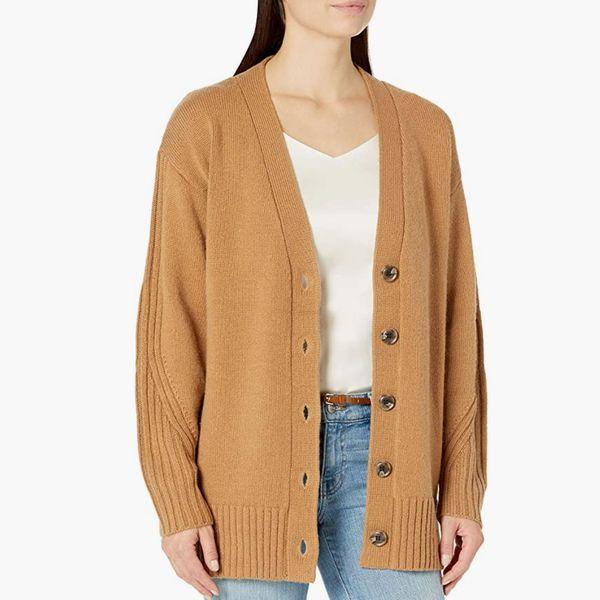 Autumn Essentials Oversized Button-Front Cardigan