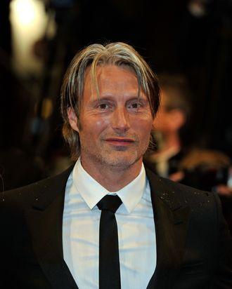 Actor Mads Mikkelsen attends the