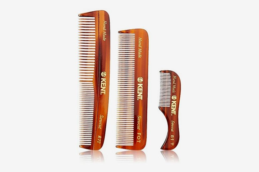 Kent Handmade Coarse and Fine Toothed Pocket Combs