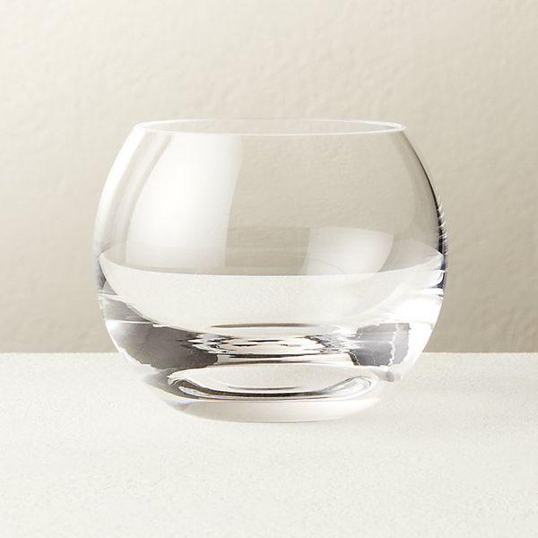 CB2 Hendricks Double Old-Fashioned Glass