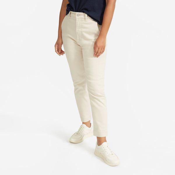 Everlane Slim Leg Crop Pant