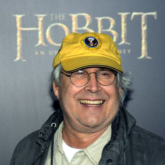 "US actor Chevy Chase arrives at the US premiere of ""The Hobbit: An Unexpected Journey"" December 6, 2012 at the Ziegfeld Theatre in New York."
