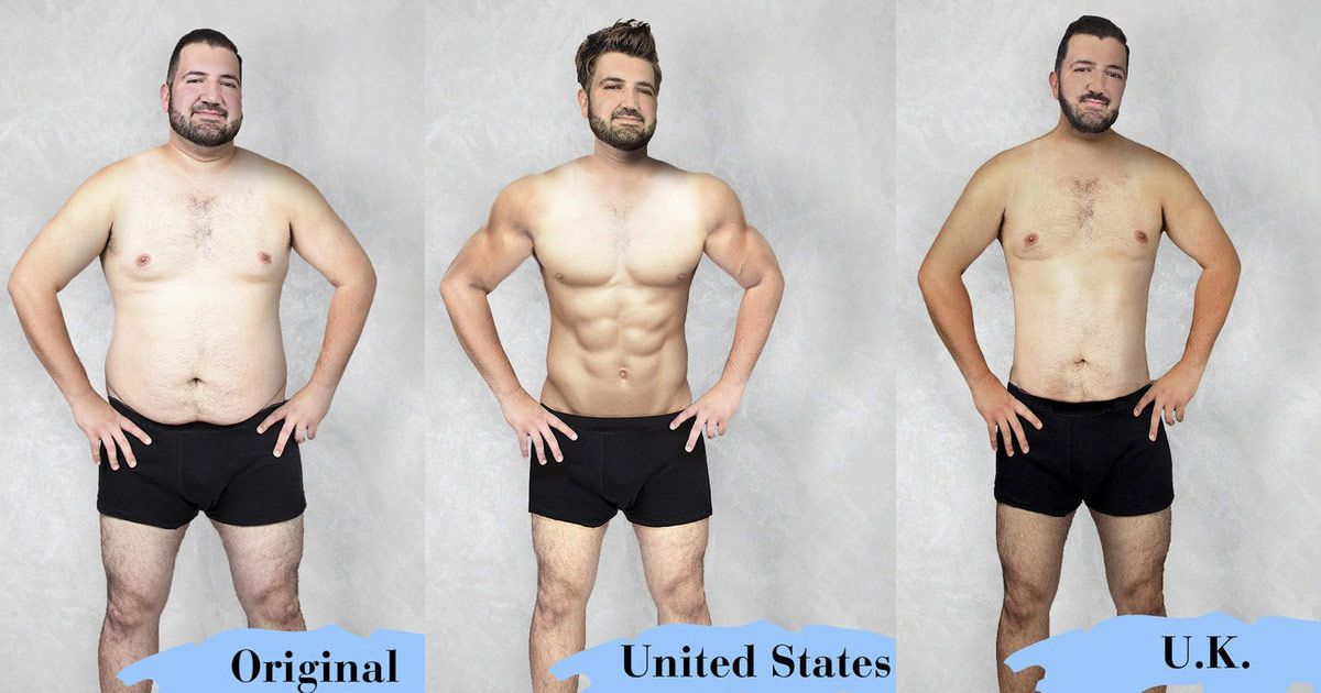 these pictures of the ideal male body prove photoshop is hard