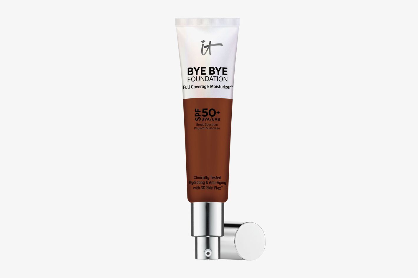 Bye Bye Foundation Full Coverage Moisturizer with SPF 50+ Deep